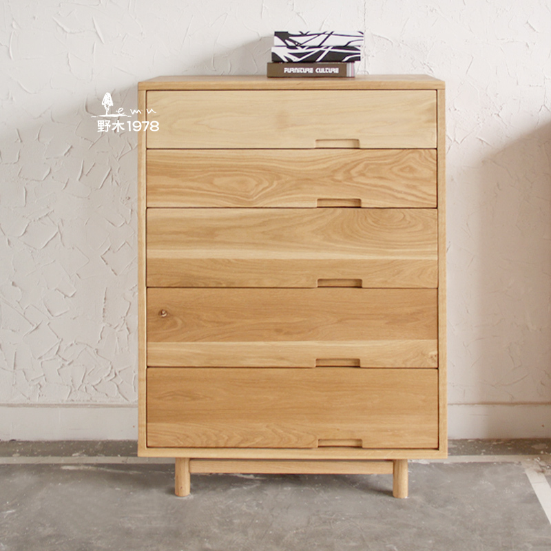 Simple hand wood chest of drawers bedroom closet doo doo - Bedroom storage cabinets with drawers ...