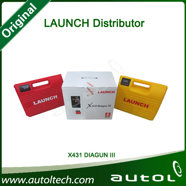Top-Rated 2013 Newest Arrival Launch X431 Diagun 3 X-431 diagun III X431 Launch Full Package(China (Mainland))