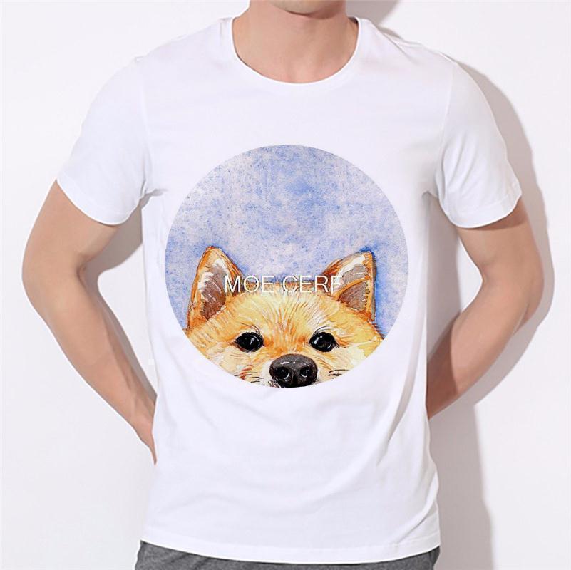 Dreams of becoming a lion dog pattern printing men's T-shirt 3D T Shirts Men Mens Tees Dog Pug Men t shirt Short Sleeves B-138#  HTB1wp9vKVXXXXctXXXXq6xXFXXXs