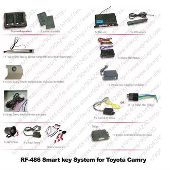 Smart Key System Car Alarm for Toyota Camry (RF-48603)