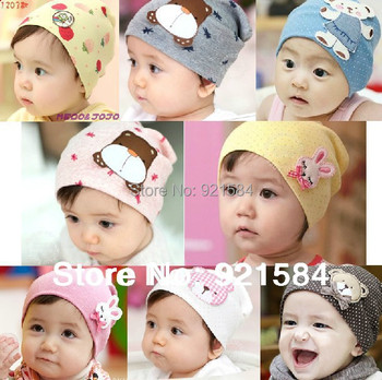 beanie baby hat kids baby photo props,36 colors lovely animal pattern skull elastic hat gorros bebes cap for 0-3 years old,AfL