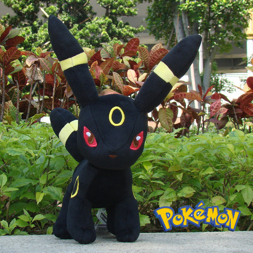 "Pokemon Plush Stuffed Animal Umbreon 9"" Nintendo Game Doll Collectible Soft Toy"