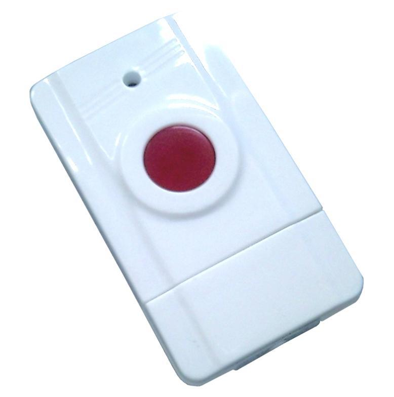 433MHz Wireless GSM elderly Emergency button panic button personal work with GSM SMS Security Alarm System(Hong Kong)