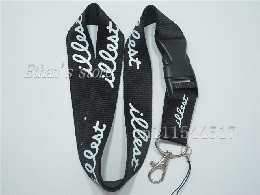 FREE SHIPPING Illest lanyards id badge holder mobile neck straps wholesale(China (Mainland))