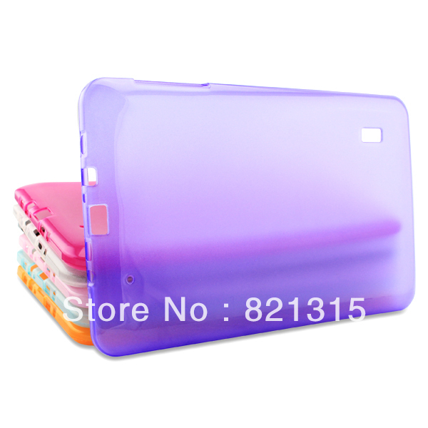 Free shipping 9 inch Rubber Protective & Durable Silicon Tablet PC multicolor Case Cover At a loss sale 10pcs a lot(China (Mainland))