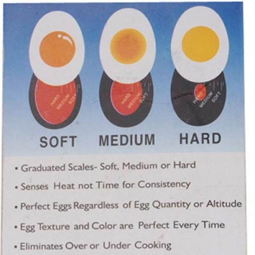 2015 Best Red boiled eggs raw and cooked egg timer Observer(China (Mainland))
