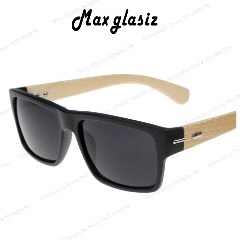 2014 New Plastic Front W Natural Horn Wood Sunglasses Designer Best Brand UV G15 Lens Shade Retail Fashion Square Oculos De Sol(China (Mainland))