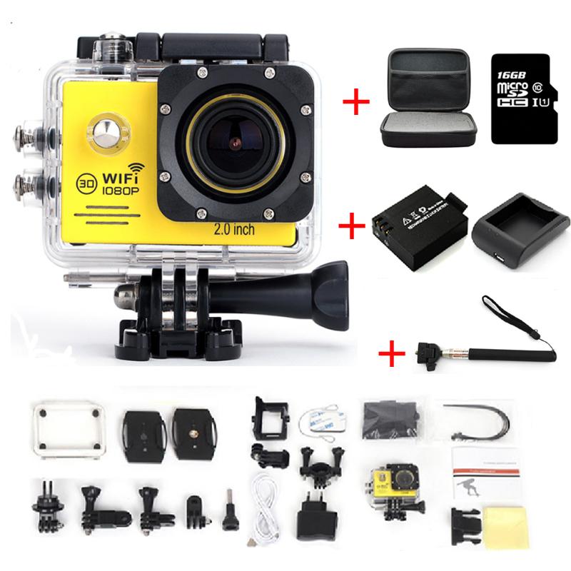 WiFi Action Camera SJ7000 Gopro Style 1080P Full HD Helmet DV Camcorder 30M Waterproof Diving Sport Camera Remote Control