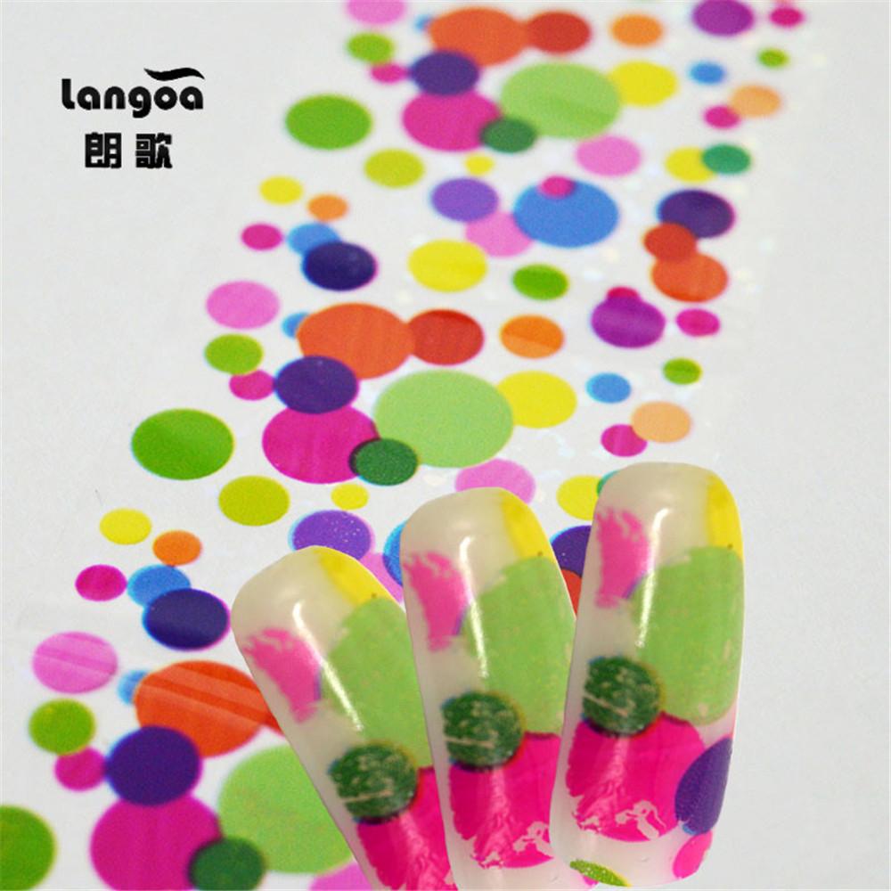 4cm*40cm HOT Fashion Style Nail Transfer Foil Decals Nail Art Stickers Foil Polish Adhesive Wraps DIY Nail Beauty Craft 5pcs/Lot(China (Mainland))