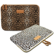 Pop Leopard Laptop Sleeve Case 10,11,12,13,14,15 inch Computer Bag, Notebook, For ipad  Tablet, For MacBook, Free Drop Ship(China (Mainland))
