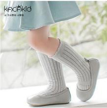 2016 solid socks baby knee high socks boys girls chaussettes newborn infant baby long kids children cotton sock meias sokken