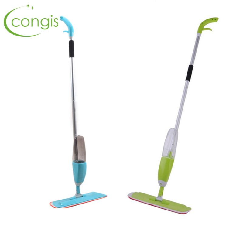 Congis 1Pc 2 Colors Multifunction Spray Water Spray Mop Hand Wash Plate Mop Home Wood Floor Tile Kitchen Cleaning Tool(China (Mainland))