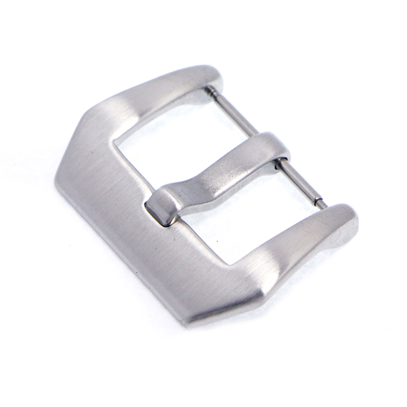 20mm Watch Band Pin Buckle Stainless Steel Watch Buckle Durable Watch Clasp Polished Brushed Silver Band Clasp For Watch 027(China (Mainland))
