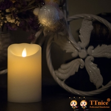 7 inch Night Lights Candle by Luminara With Remote Control and Timer(China (Mainland))