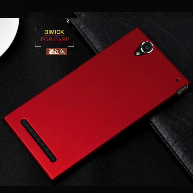Luxury Matte Rubber Hard Case for Sony Xperia T2 Ultra Dual D5322 XM50h D5303 Back Cover 2016 New Mobile Phone Bags Shell(China (Mainland))