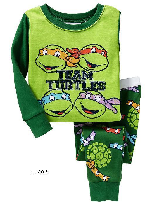 Teenage Mutant Ninja Turtles Children Pijamas Baby Clothing Christmas Kids Pajamas Sleepwear Sets Boys Pajama Pyjamas(China (Mainland))