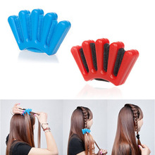 2015 Hot sale High Quality New Hair Braider Braid Stylist Sponge Plait hair Twist Styling Braiding Tool Styling Tools Braiders(China (Mainland))