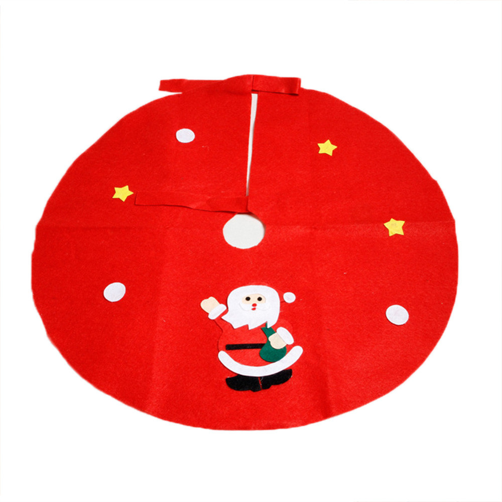 High quality wholesale christmas tree skirts from china for Christmas decoration sales 2016