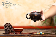 Yixing purple clay painting CHUNXIAO teapot zisha sand tea pot kungfu set 200ml JN1313