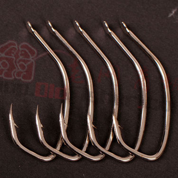High cost big bass boat fishing hook hooks sea bass special place to catch big fish hook 10 hooks mounted crooked mouth(China (Mainland))