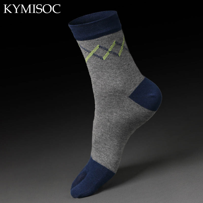 Men Boys Cotton Finger Socks Breathable Five Toe Socks Pure Soks Ankle Sox Pilates Calcetines Business socks(China (Mainland))