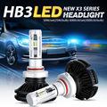 Oslamp HB3 9005 LED Headlights Kit CSP Chips 2pcs LED Auto Car Bulbs 50W 6000LM All