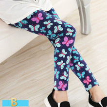 Hot selling 2016 Spring flower girl pants baby girl leggings kids fashion legging children pant girls' leggings