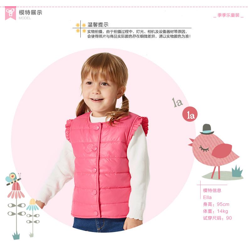 Скидки на Ребенка жилет зима верхняя одежда высокое качество дети жилет хлопка жилет девушки марка ребенок верхняя одежда детская жилет пальто