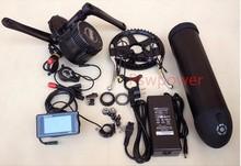 48V 750W C961 BBS02 8fun /bafang mid crank drive motor ebike kit+48V 13Ah lithium ion Bottle ebike battery(China (Mainland))