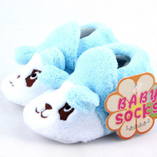 Baby Infant Cotton Shoes Boy Girls Animal Soft Sole Cozy Toddler Shoes Socks