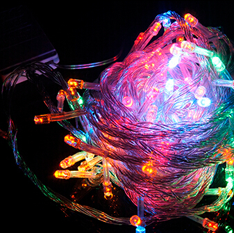 Hot Sale 100 LED 10M String Light Lamp Christmas Wedding Party Decoration Lights AC 110V 220V holiday led lighting<br><br>Aliexpress