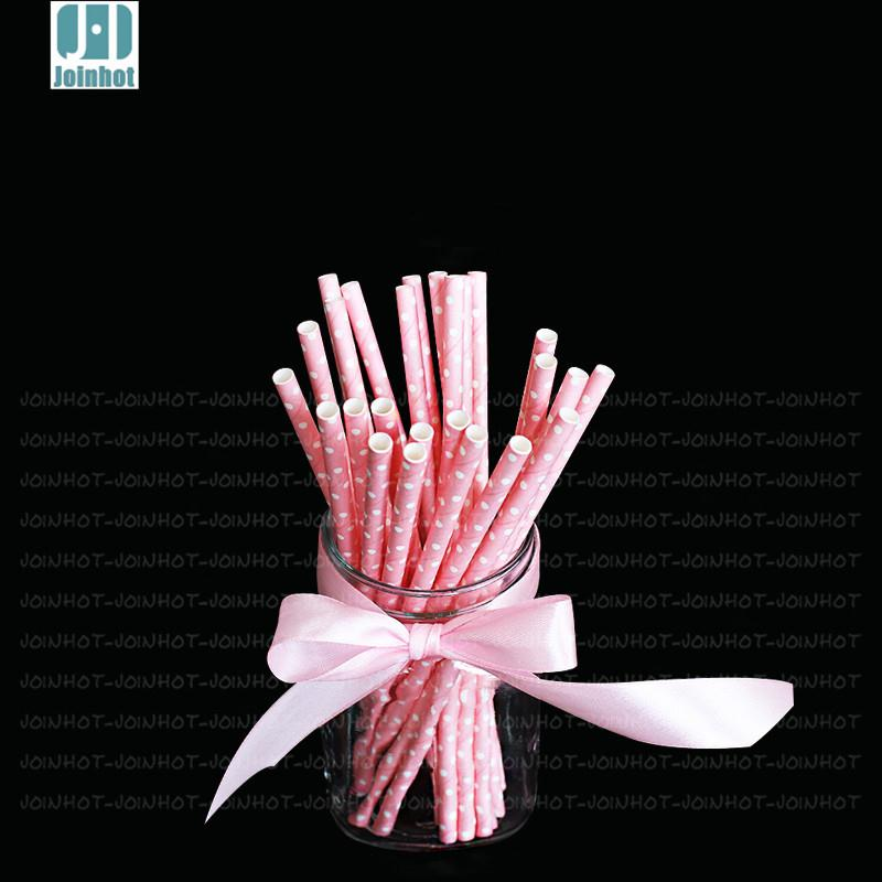 25pcs Colorful Striped Paper Drinking Straws Party Event Supplies Creative Drinking Straws(China (Mainland))