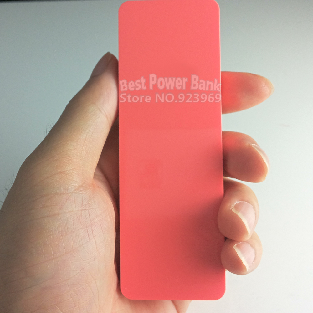 4000mAh Universal Portable USB Mini Pink Backup recharge External Battery Pack Power Bank Cell Phone iphone4S/5S/6 SamSung - Best store
