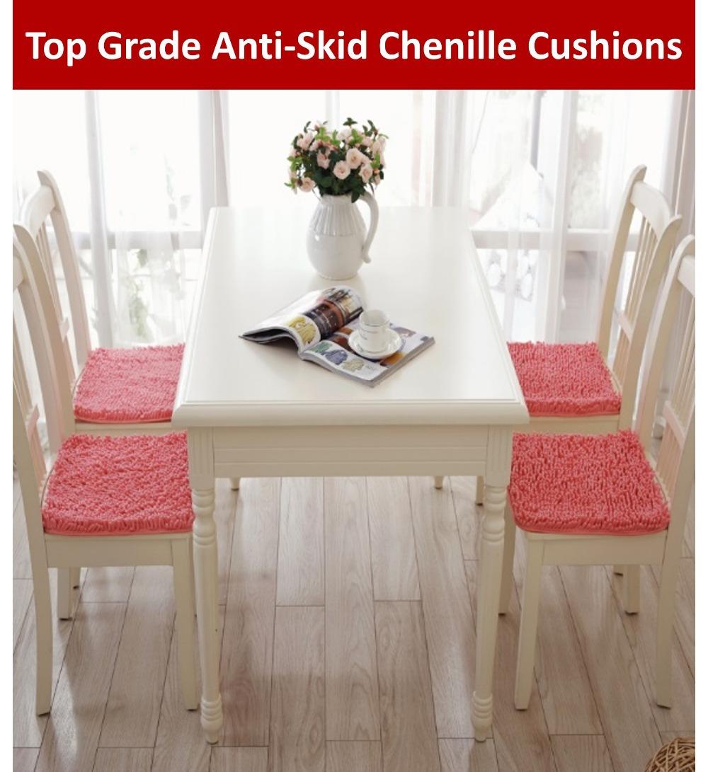 haute qualit chenille antid rapante coussins de chaise ber ante et coussins pais bureau chaise. Black Bedroom Furniture Sets. Home Design Ideas