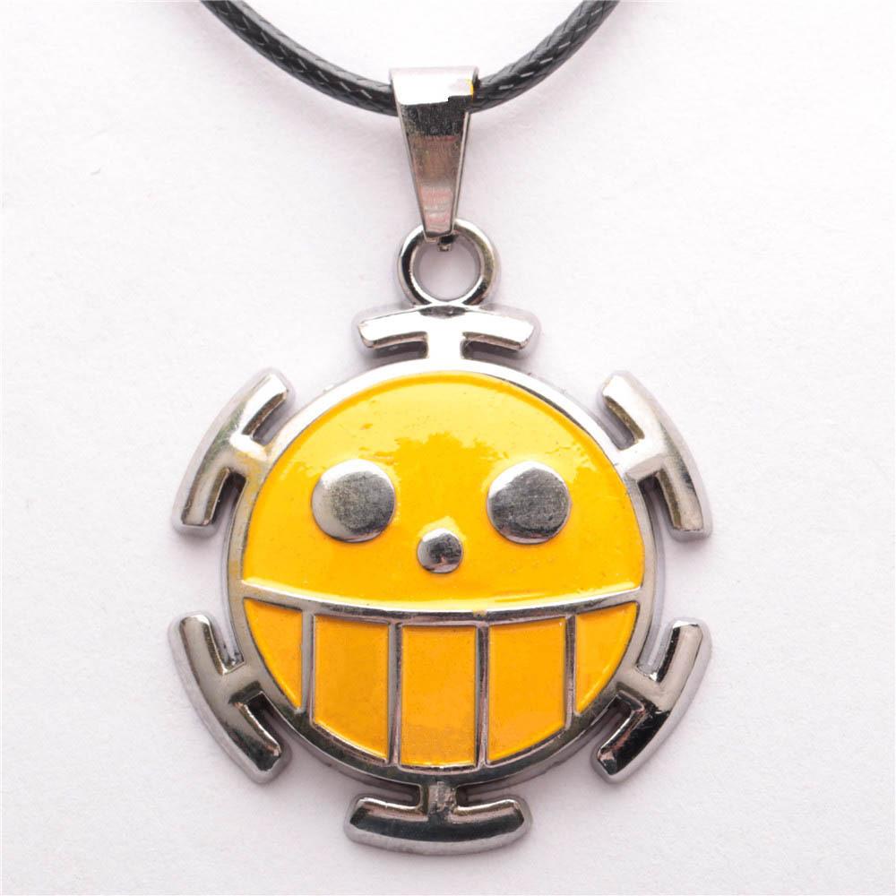 One Piece Trafalgar Law Metal Necklace Anime Figure Pendant Toy Accessories Jewelry(China (Mainland))