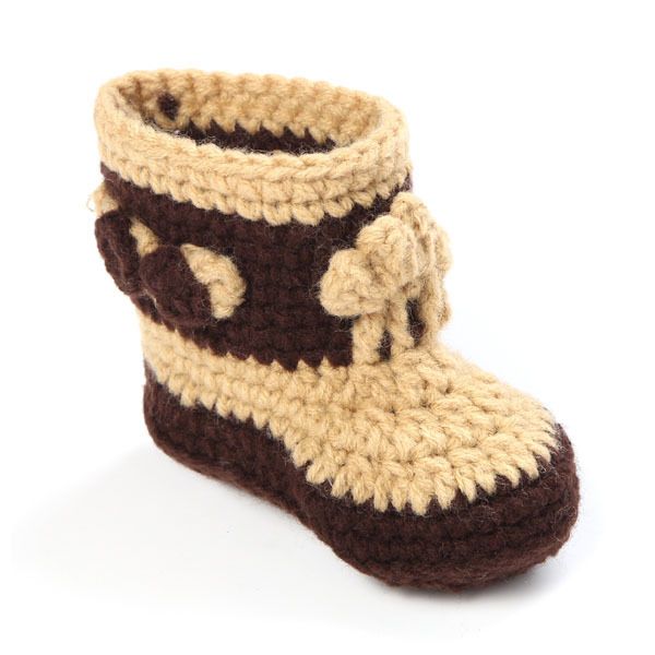 Knitting Pattern For Baby Cowboy Hat : Crochet Baby Cowboy Hat and Boots Set in Brown Newborn Boy ...