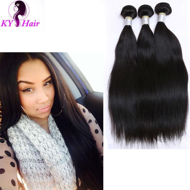 Virgin Peruvian Hair Silky Straight 6 Bundles Preuvian Hair Extension Cheap Human Hair 100G Bundles Straight Virgin Hair Weave <br><br>Aliexpress