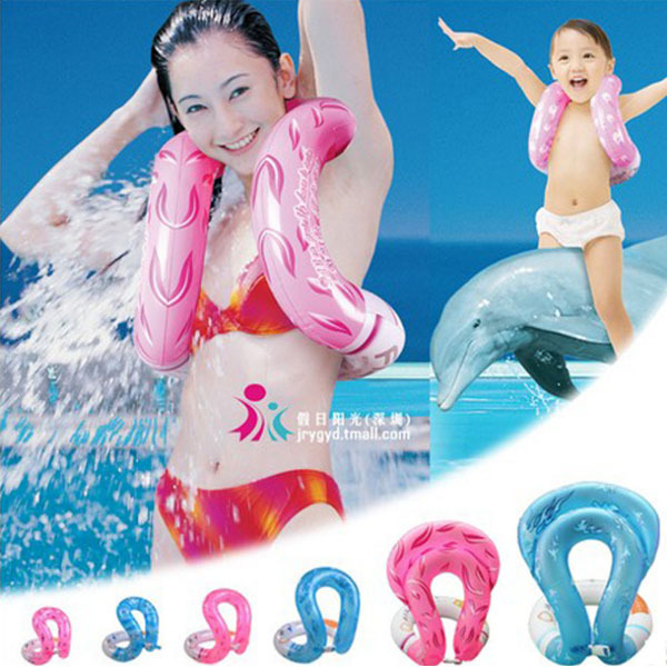 Life vest Children Kids Adults Inflatable Swimming Circle Swimming Ring Floating Ring Water Sports Fish Swim Ring Free Shipping(China (Mainland))