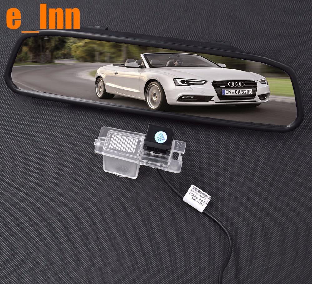 "4.3"" TFT-LCD Parking Rearview Monitor Kits with Car Reverse Camera for Ssangyong Rexton Kyron Backup Rear Review Reversing(China (Mainland))"