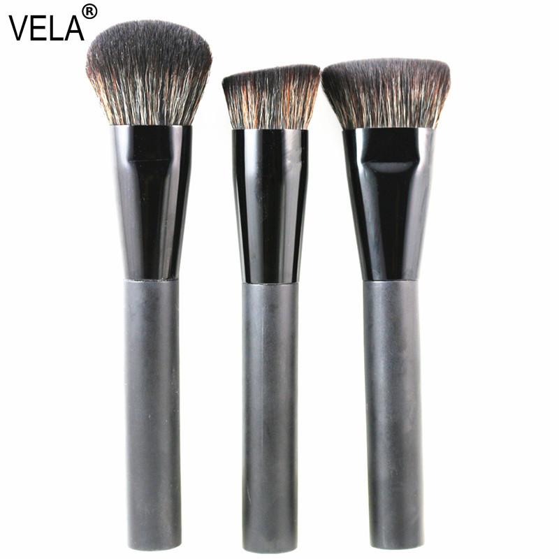 Premium 3pcs Face Makeup Brushes Set Multipurpose Face Makeup Tools Kit(Hong Kong)