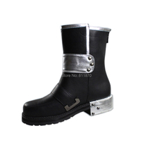 Sword Art Online SAO ALO Cosplay Kirigaya Kazuto/Kirito High Quality Leather Dunk High Short Boots/Shoes Free Shipping