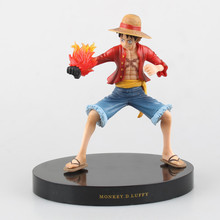Buy Anime One Piece 18CM Monkey D Luffy New World PVC Action Figure Collectible Model Brinquedos Toys for $21.50 in AliExpress store