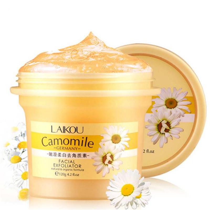 Natural Facial Scrub/Go Cutin Removal Face Exfoliating Body Cream Whitening Gel 120g(China (Mainland))