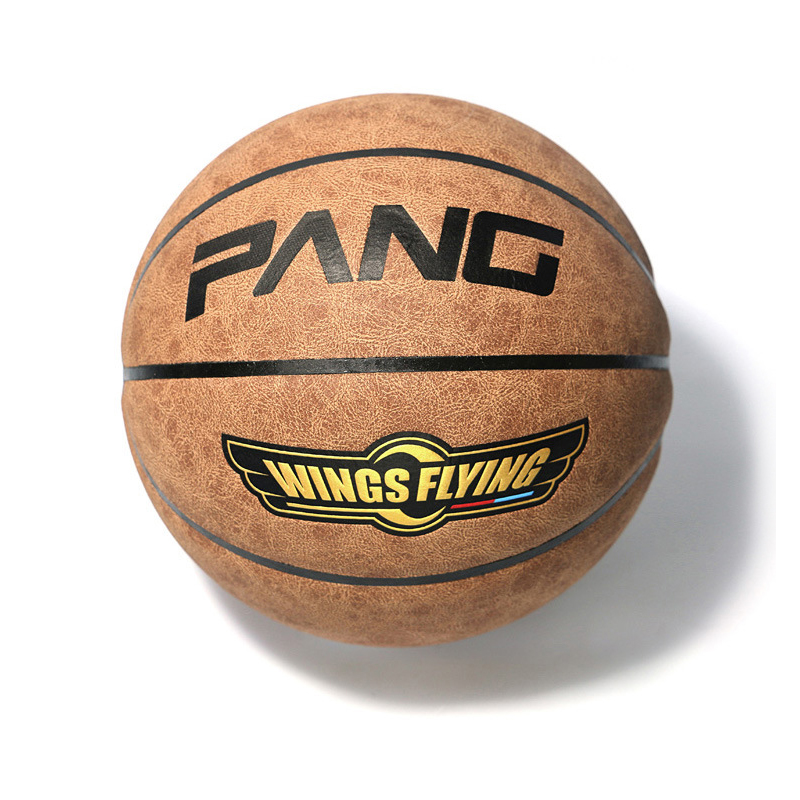 PANG Cow Genuine Leather Basketball Ball American Official Authentic Suede Slip Outdoor Basektball Ball Size 7 With Free Needle(China (Mainland))