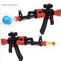 Paintnall gun soft bullet gun plastic toy pistol AK47 CS game shooting water bullet crystal gun
