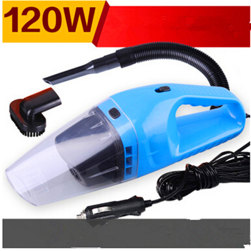Auto Accessories Portable 120W 12V Car Vacuum Cleaner Handheld Mini Super Suction Wet And Dry Dual -Use Vaccum Cleaner For Car(China (Mainland))