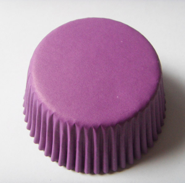 Free Shipping 100X purple plain cake paper cupcake liner baking cup muffin case cake tool Bakery baking supply base 5cm wall 3cm(China (Mainland))