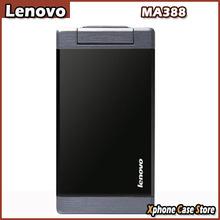Original Lenovo MA388 3.5″ Business / Elders Flip Mobile Phone FM & Flashlight & Camera Bluetooth Dual SIM GSM Network