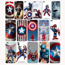 2498G Fashion Captain America Hard Transparent Case Redmi 3 3s Pro Note 2 2A & Meizu M3 M2 note Mini case - TTcase Store store