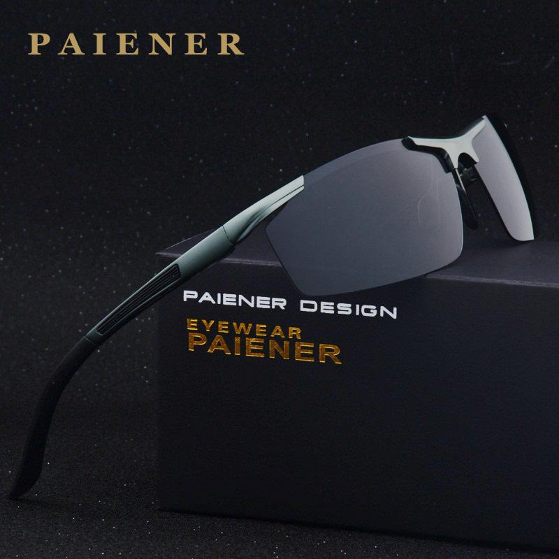 Top Quality Fashion Polarized Sunglasses Men Original Brand Designer Sun Glasses man women Polaroid Gafas De Sol Vintage Oculos(China (Mainland))